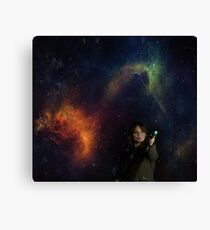 Doctor Clara Canvas Print