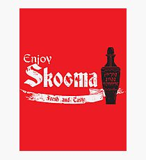 Enjoy Skooma Photographic Print
