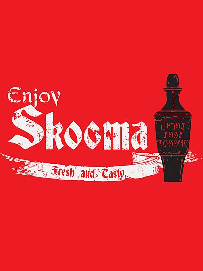 Enjoy Skooma by DarkChoocoolat
