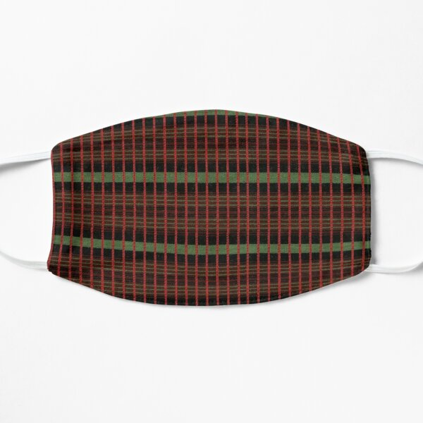 Vintage London Routemaster seat pattern Mask