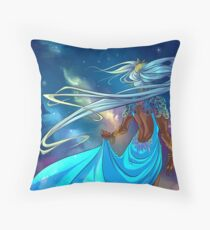 The Beauty of Night Throw Pillow