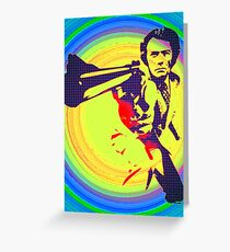 dirty harry Greeting Card