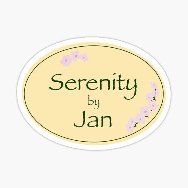 Serenity by Jan Sticker