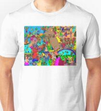 Rabbits on Vacation Unisex T-Shirt