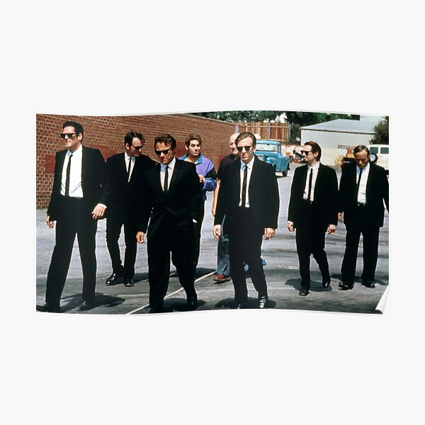 Quentin Tarantino Reservoir Dogs Poster