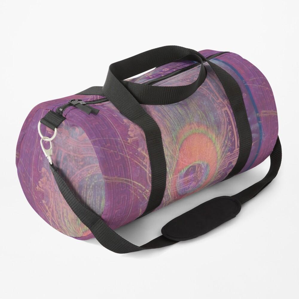 Gilded Dreams in Rose Duffle Bag