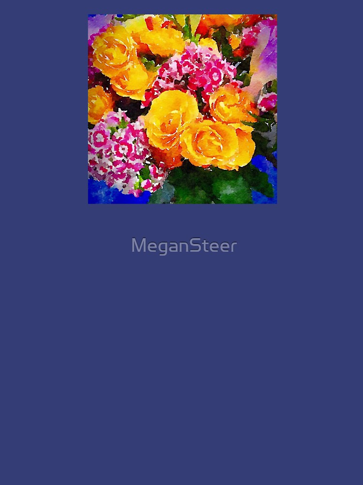 Watercolor Bouquet by MeganSteer