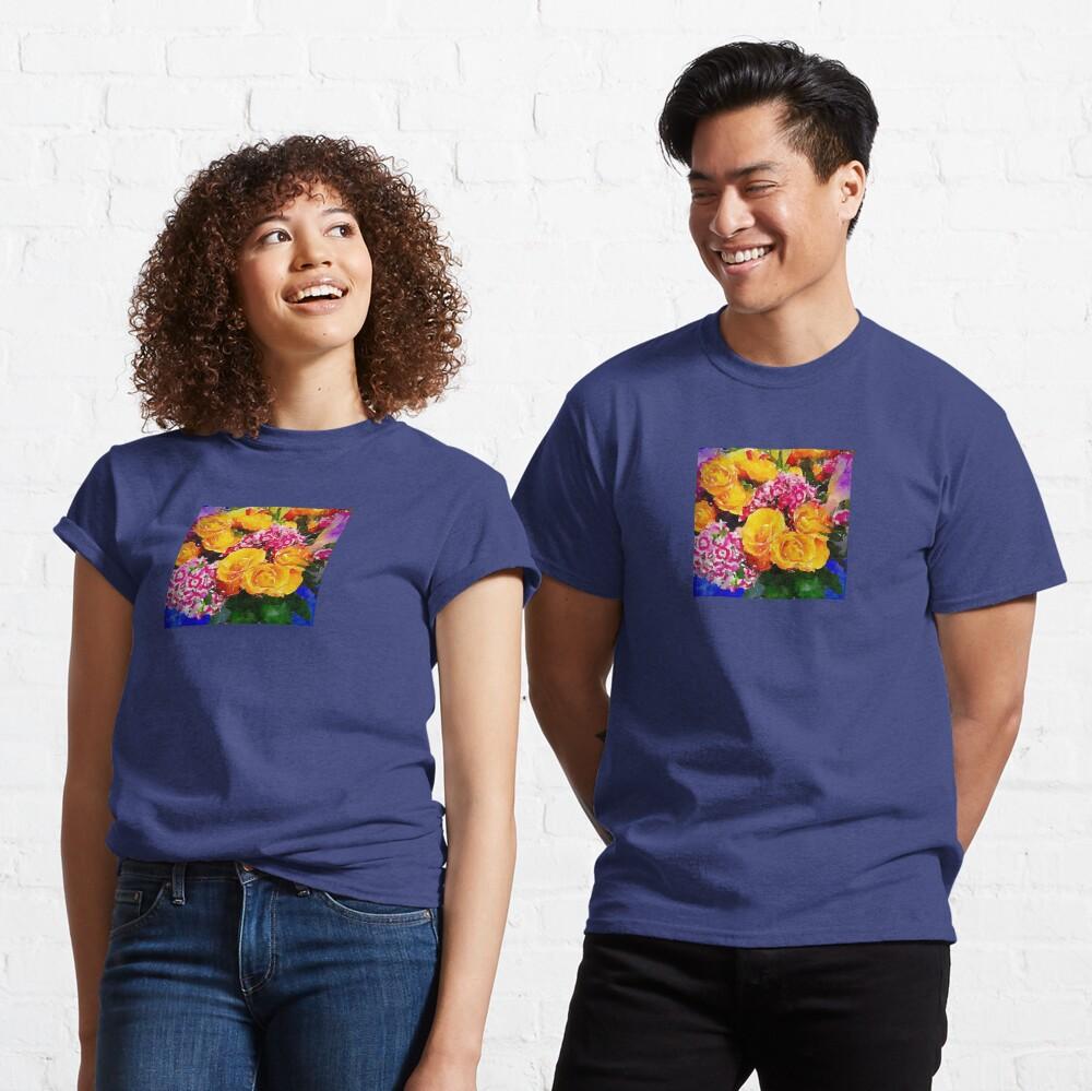 Watercolor Bouquet Classic T-Shirt