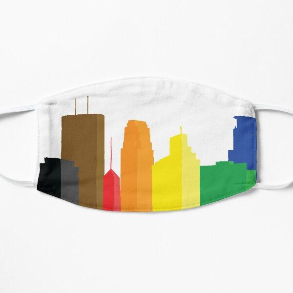 Minneapolis Pride Skyline Flat Mask