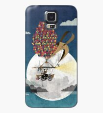 Flying Bicycle Case/Skin for Samsung Galaxy