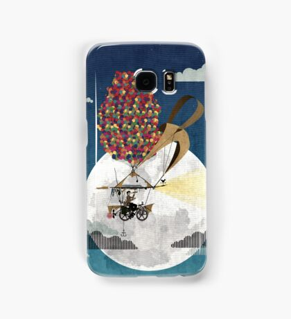 Flying Bicycle Samsung Galaxy Case/Skin