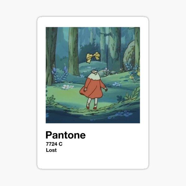 Lost Pantone Sticker