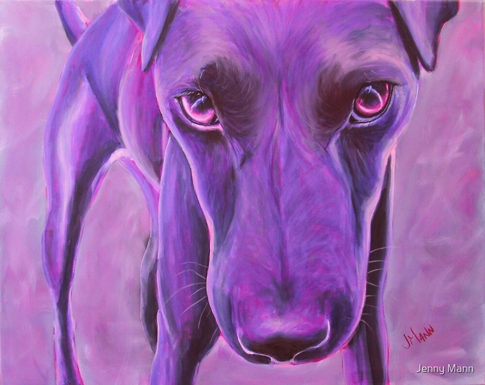 Big Little Purple Dog by Jenny Mann