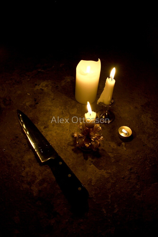 Candle Lit by Alex Ottosson