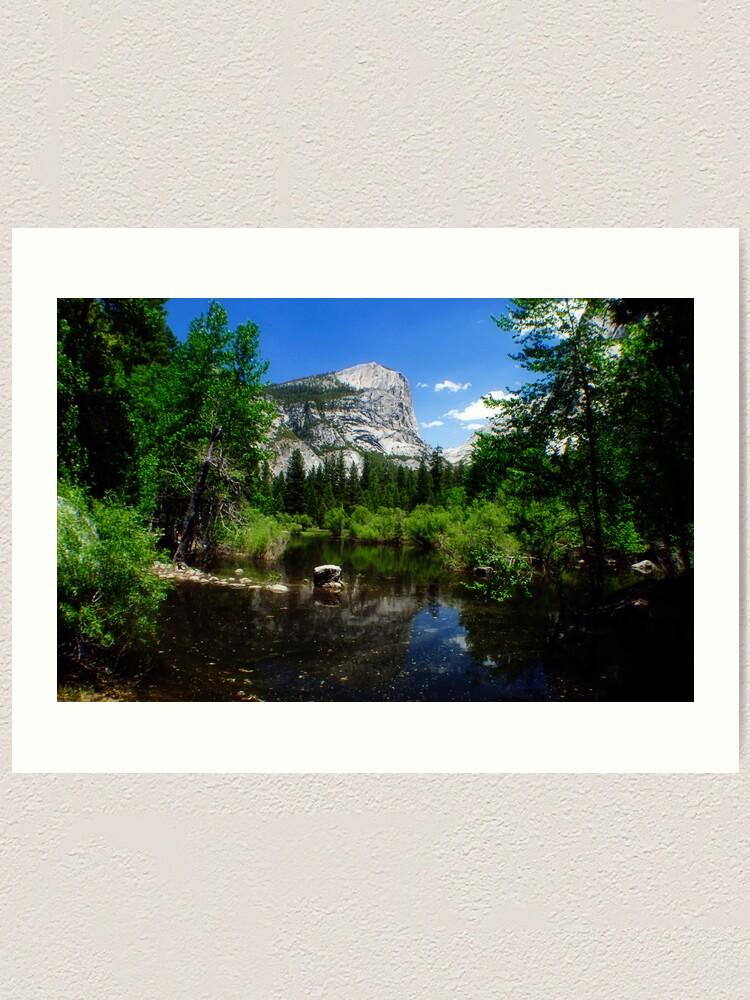 Alternate view of Mirror Lake Art Print