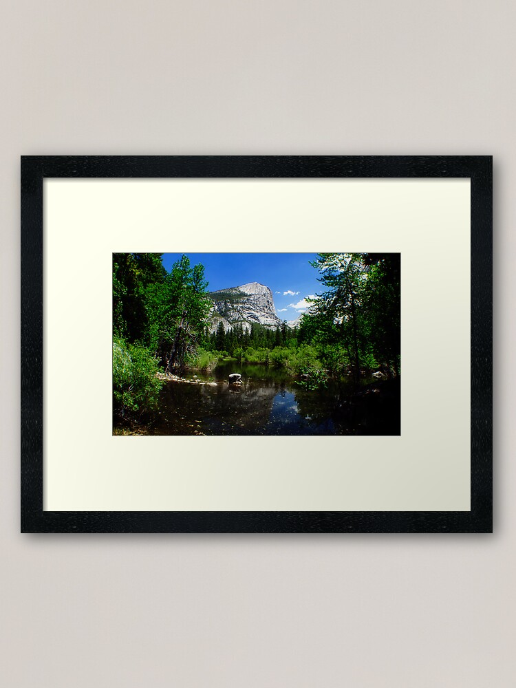 Alternate view of Mirror Lake Framed Art Print