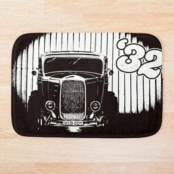 1932 Ford Coupe Hot Rod Bath Mat