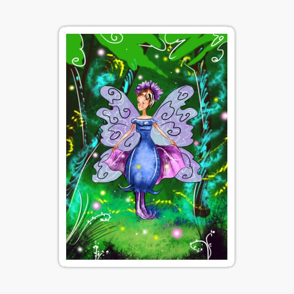 Esme The Enchanted Forest Fairy™ Sticker