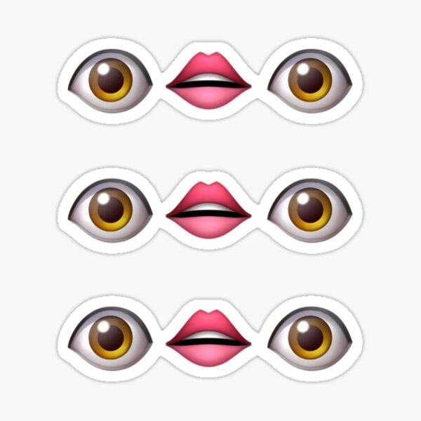 3pc Emoji Pegatina