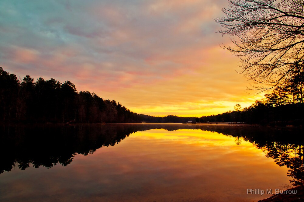 January Morn by Phillip M. Burrow