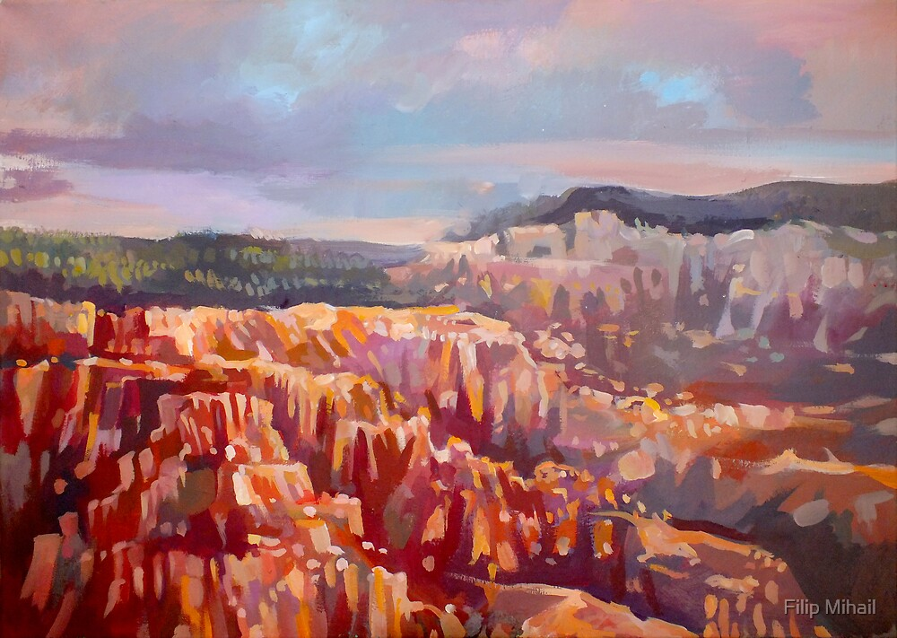 Bryce Canyon National Park by Filip Mihail