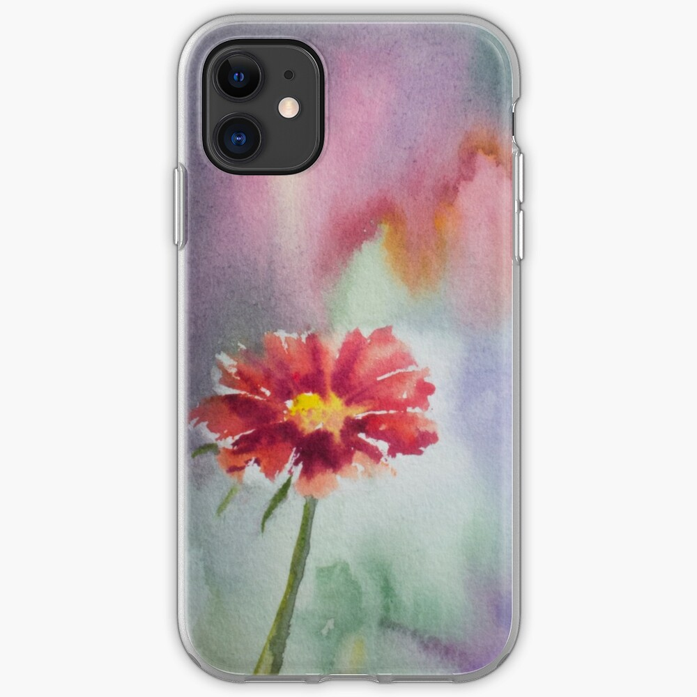 Red Flower iPhone Case & Cover