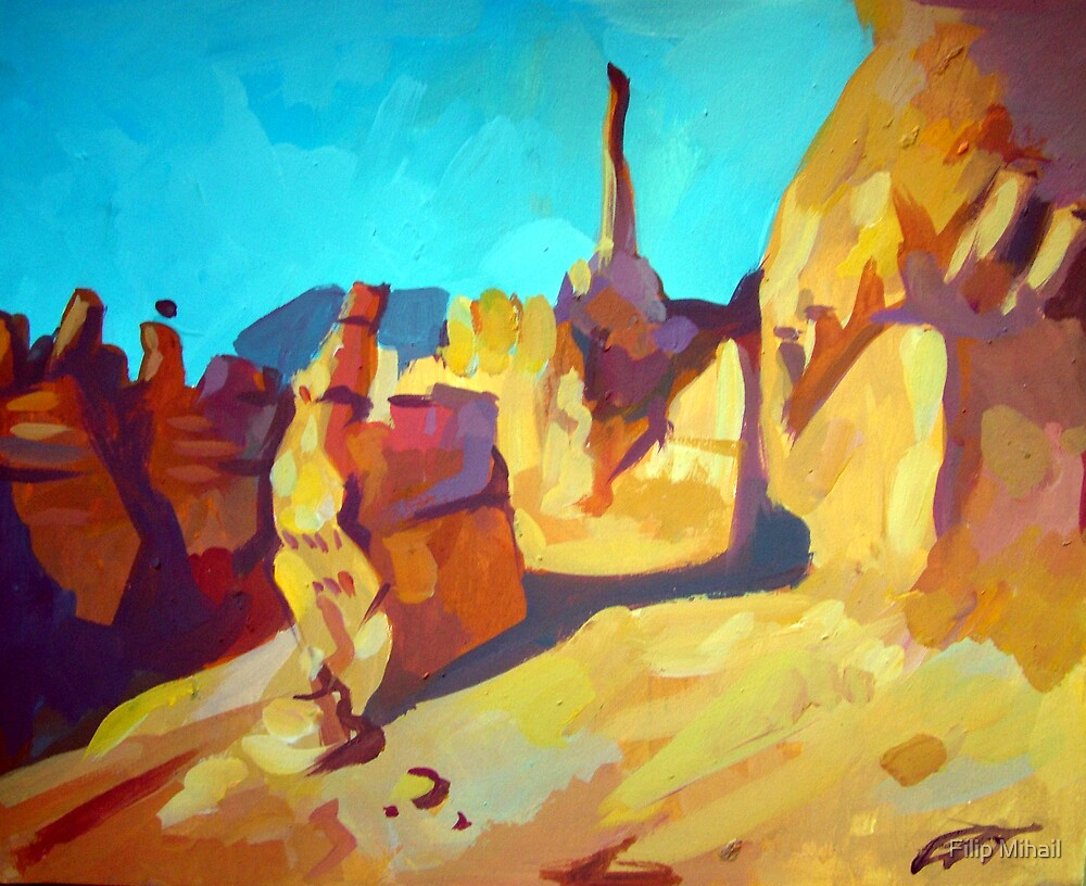 Bryce Canyon by Filip Mihail