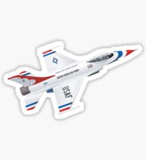 F-16: Thunderbirds Sticker