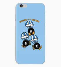 "Droppin ""F"" Bombs iPhone Case"