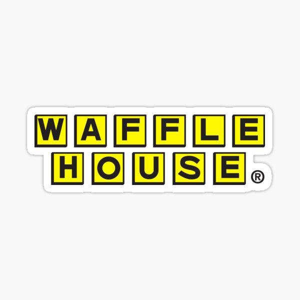 Waffle House Logo Sticker
