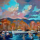 Santa Barbara Marina by Filip Mihail