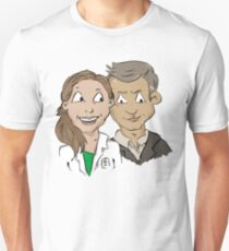 Molly Hooper and DI Lestrade Unisex T-Shirt