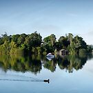 Early Morning Reflections of Derwent Isle by Martin Lawrence