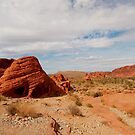 Red Rocks Landscape by Alinta T. Giuca