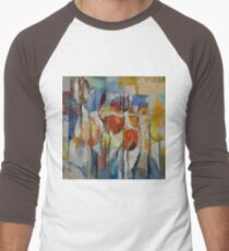 Tulips Men's Baseball ¾ T-Shirt