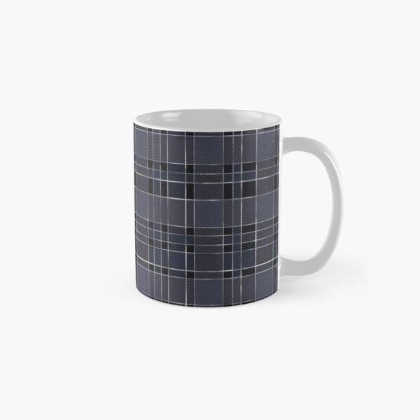 Gray Plaid Classic Mug