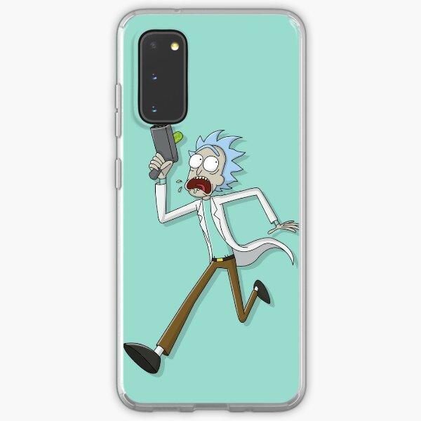 Rick Sanchez Running Graphic - Rick and Morty Samsung Galaxy Soft Case