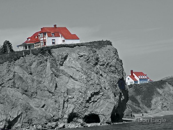 Cliff-top by Don Eagle