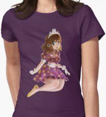 Polk-a-dot Purple Dress Princess T-Shirt