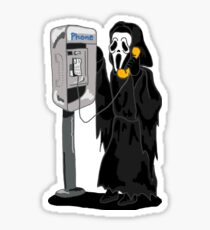What's Your Favorite Scary Movie? Sticker