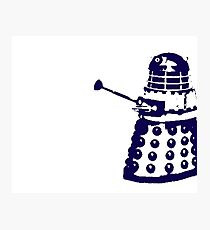 Dr Who Dalek Photographic Print