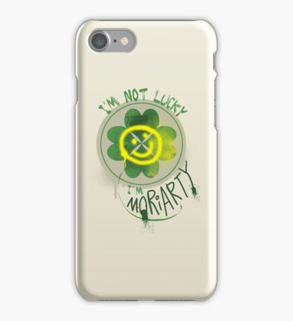 I'm Moriarty iPhone Case/Skin