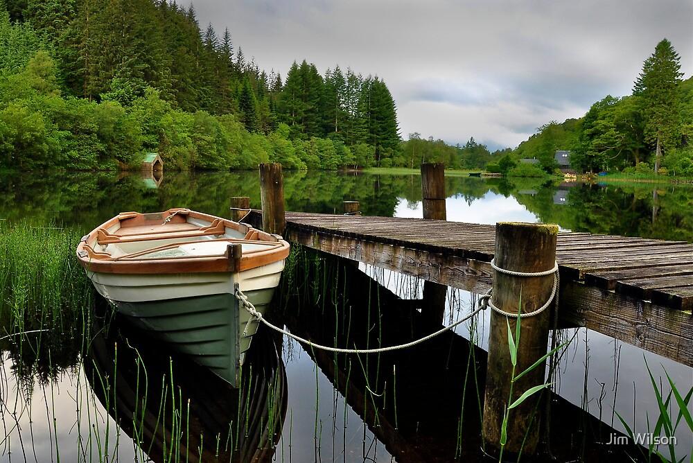 Loch Ard,Trossachs ,Scotland by Jim Wilson