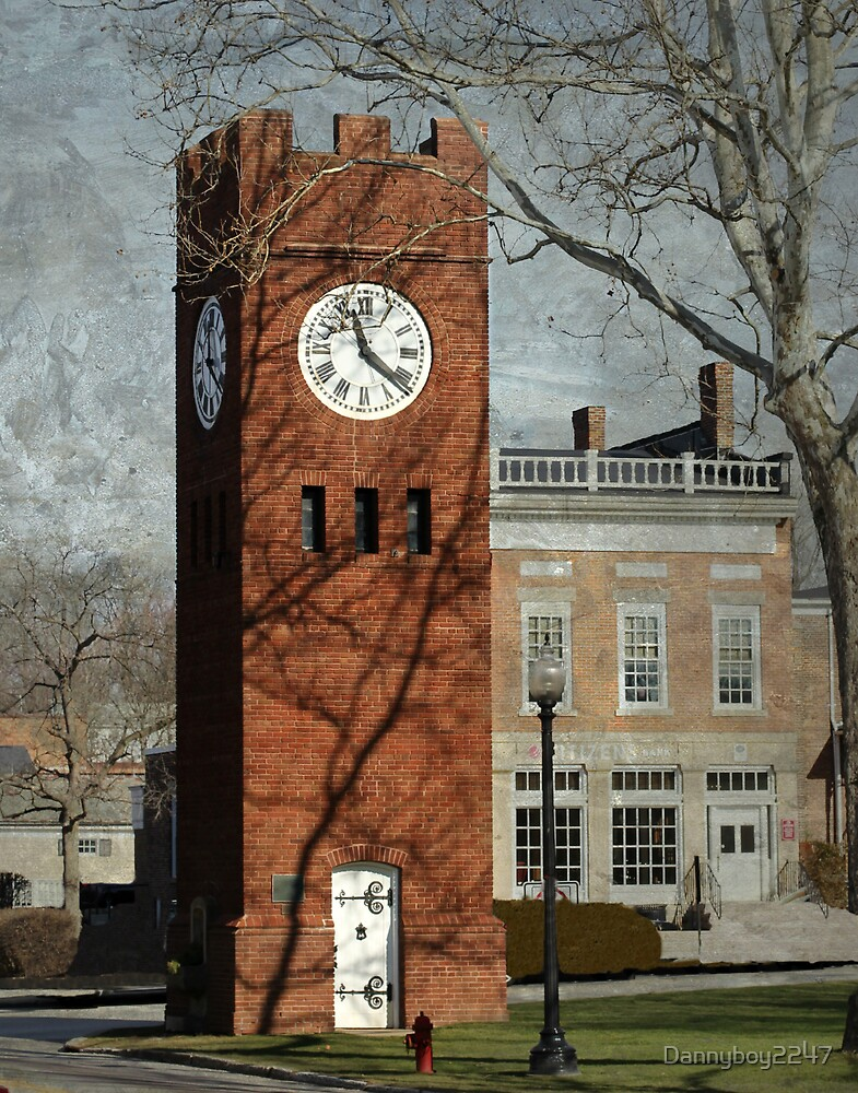 Clock Tower in Hudson, Ohio by Dannyboy2247