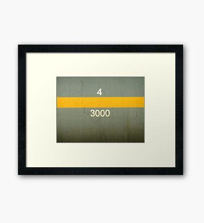 43000 Framed Print