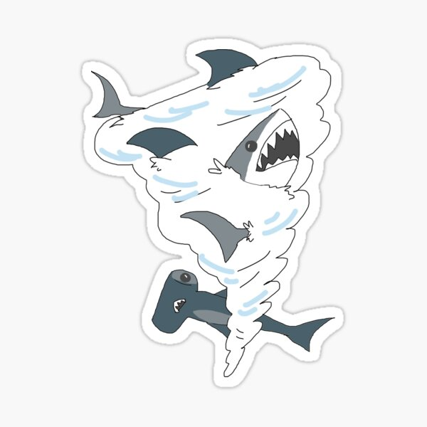 Sharknado Sticker