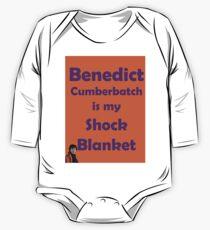 Benedict Cumberbatch is my Shock Blanket One Piece - Long Sleeve