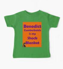 Benedict Cumberbatch is my Shock Blanket Baby Tee
