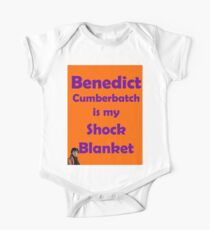 Benedict Cumberbatch is my Shock Blanket One Piece - Short Sleeve