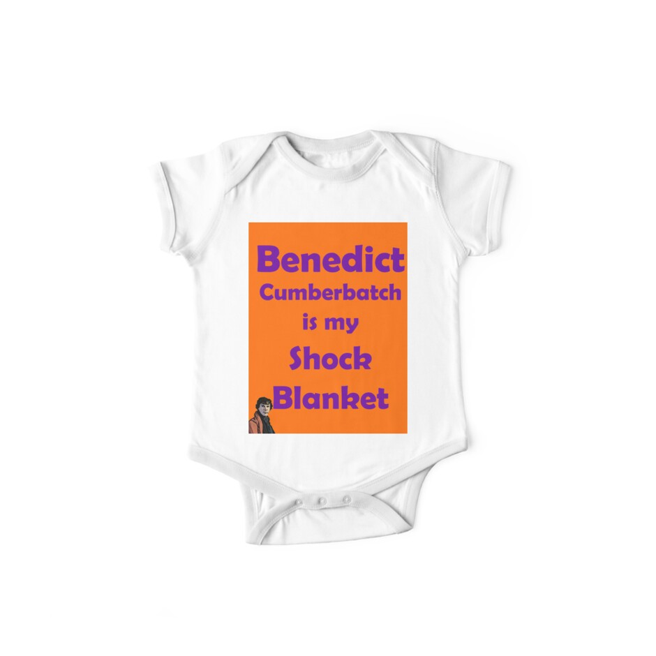 Benedict Cumberbatch is my Shock Blanket by froofiemole